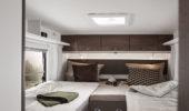 Schlafbereich / Heckbett (Beispiel)